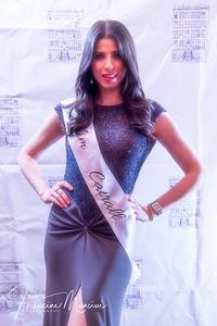 Lorianna Izrailova wearing Kim Cattrall's gown