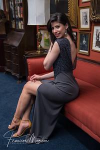 Lorianna Izrailova in Kim Catrall's gown
