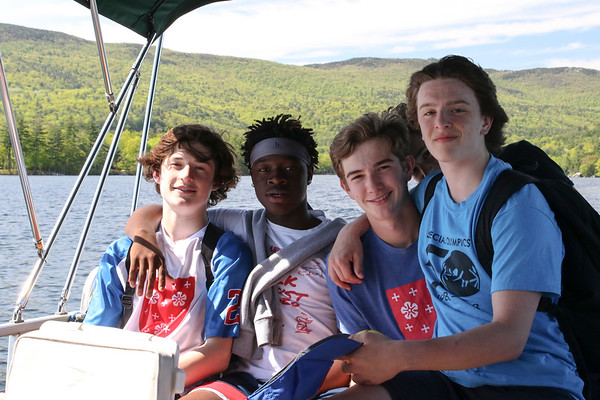 Church Island on Squam Lake with the Ninth Graders