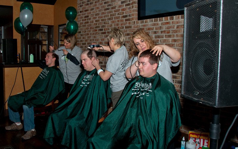 St. Baldrick's - South Elgin 2010 - March 15, 2010