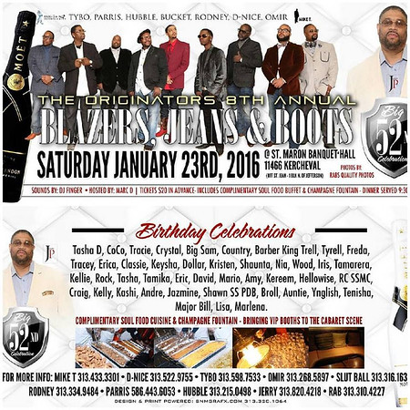 St. Maron Banquet Hall 1-23-16 Saturday