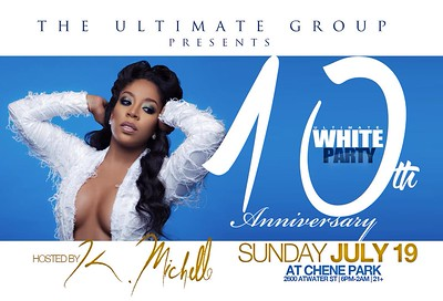 The Ultimate White Party 7-19-15 Sunday