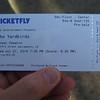 Frank's ticket.