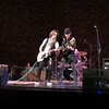 Johnny A on lead guitar, Kenny Aaronson on bass.