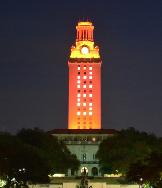 2015 Special Recognition (UT Tower)