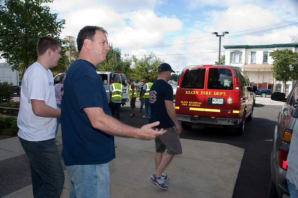 United Way Food Drive EFD Sept. 5, 2008