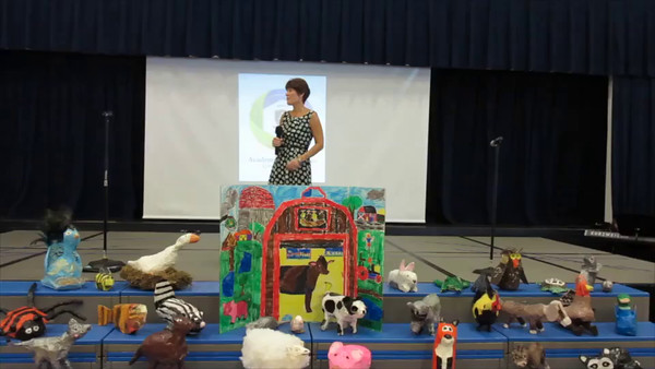 Video of 1st through 3rd grade Day of Achievement