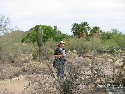 Caroline on the Trail