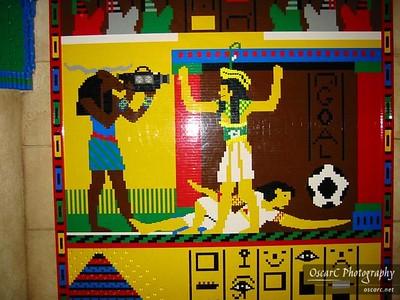 Egyptian Tomb Mosaic