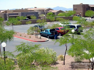 Oro Valley Parking Lot