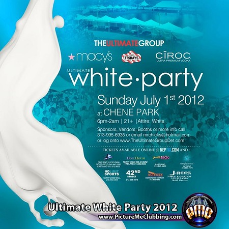 Ultimate White Party 2012 @ Chene Park