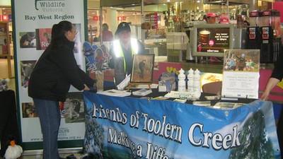 Wildlife/Environmental  Awareness at Woodgrove Shopping Centre