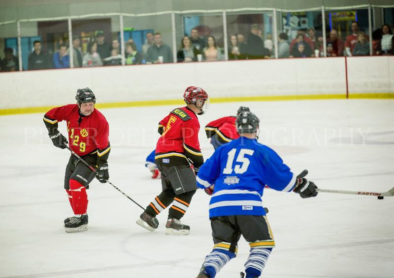 WPD VS. WFD Ice Hockey game 2017
