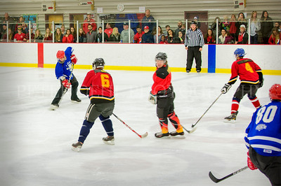 WPD VS. WFD Ice Hockey game 2017