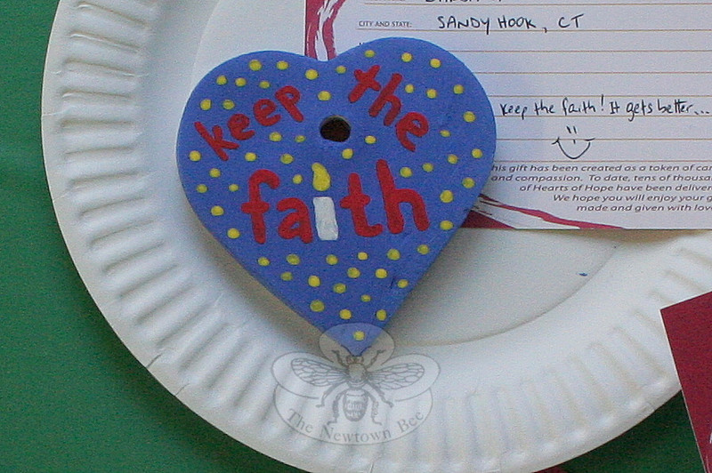With Painted Ceramic Hearts, Newtown Has An Opportunity To Pay It Forward