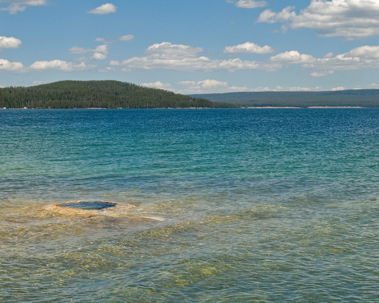 RM_4518 Hot Spring in Yellowstone Lake