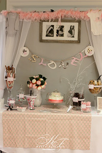 Baby Girl Shower | Photography/Event Planning | Candy Table & Handmade Decor