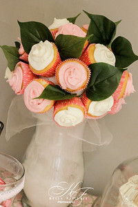 Baby Girl Shower | Photography/Event Planning | Handmade Cupcake Bouquet