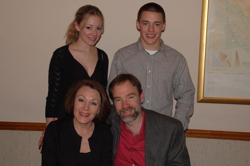Casey, Brett, Mom & Dad