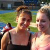 Lia DiCroce and Casey. Lisa's sister, Linda was also graduating.