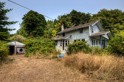 Abandoned House - Jordan River, Vancouver Island, British Columbia, Canada