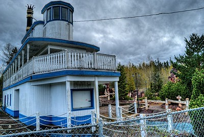 """Abandoned Mini Putt - Coombs, BC, Canada Visit our blog """"A Shot Into The Rough"""" for the story behind the photo."""