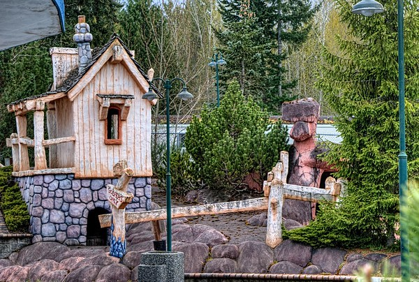Abandoned Mini Putt - Coombs, BC, Canada