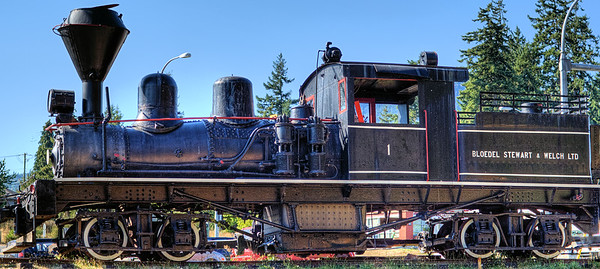 Steam Locomotive - BC Forest Discovery Centre, Duncan, BC, Canada