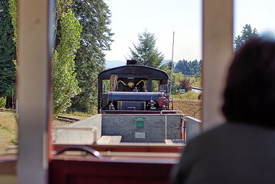 """A Train Ride - BC Forest Discovery Centre, Duncan, BC, Canada Visit our blog """"Riding The Tracks"""" for the story behind the photos."""