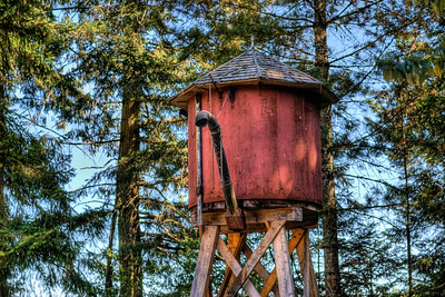"Water Tower - BC Forest Discovery Centre, Duncan, BC, Canada Visit our blog ""Never To Mine Again"" for the story behind the photos."
