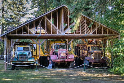 """Garage - BC Forest Discovery Centre, Duncan, BC, Canada Visit our blog """"Finding History"""" for the story behind the photos."""