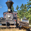 """Steam Locomotive - BC Forest Discovery Centre, Duncan, BC, Canada Visit our blog """"<a href=""""http://toadhollowphoto.com/2012/12/27/the-untrained-eye/"""">The Untrained Eye</a>"""" for the story behind the photo."""