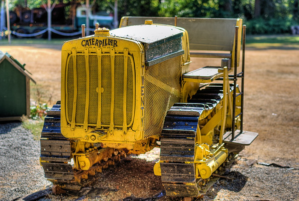 Caterpillar Tractor - BC Forest Discovery Centre, Duncan, BC, Canada
