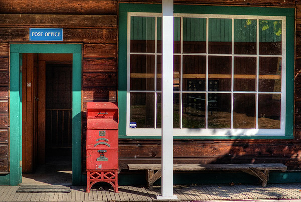 Post Office - BC Forest Discovery Centre, Duncan, BC, Canada