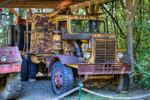 Logging Truck - BC Forest Discovery Centre, Duncan, BC, Canada