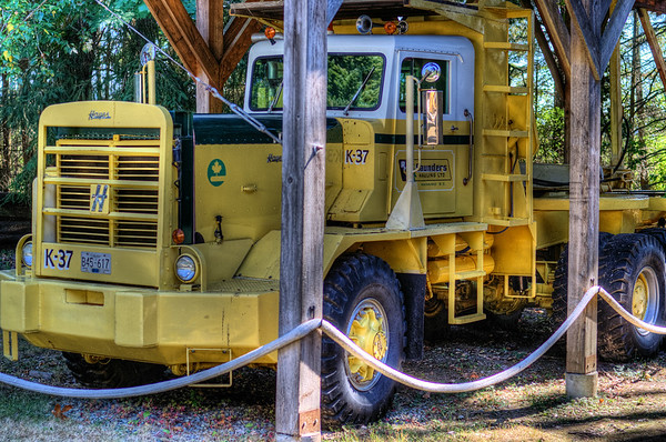 Hayes K-37 Logging Truck - BC Forest Discovery Centre, Duncan, BC, Canada