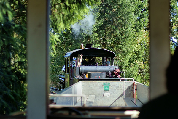 A Train Ride - BC Forest Discovery Centre, Duncan, BC, Canada