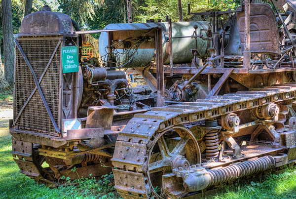 Heavy Duty Equipment - BC Forest Discovery Centre, Duncan, BC, Canada