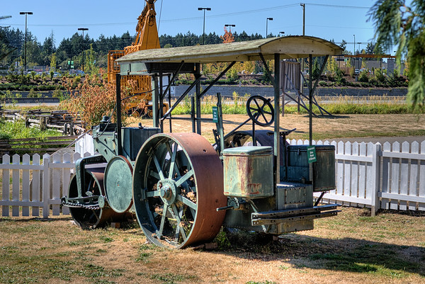 Steamroller - BC Forest Discovery Centre, Duncan, BC, Canada