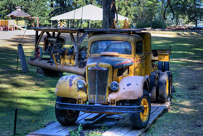 "Truck - BC Forest Discovery Centre, Duncan, BC, Canada Visit our blog ""Finding History"" for the story behind the photos."