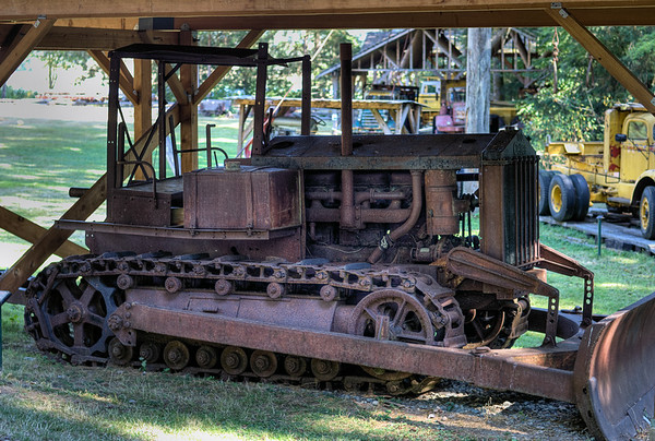 Bulldozer - BC Forest Discovery Centre, Duncan, BC, Canada