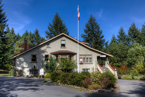 Manager's House & Museum - Bamberton, Vancouver Island, BC, Canada