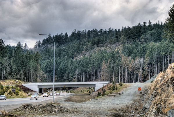Overpass - Bear Mountain, Langford BC Canada