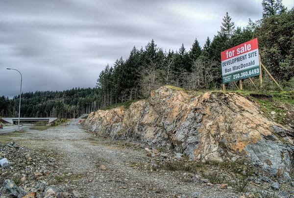 Bear Mountain Overpass - Victoria BC Canada