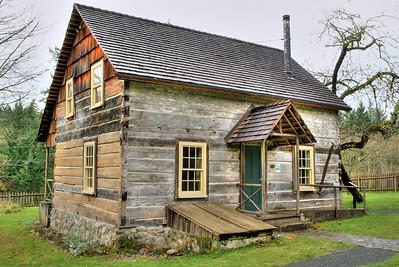Caleb Pike House, Caleb Pike Heritage Park - Victoria, BC, Canada
