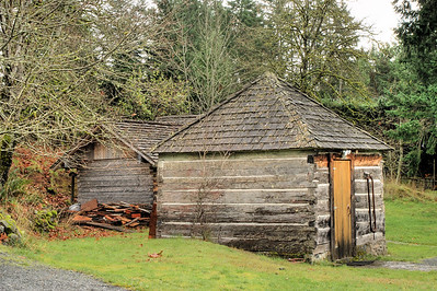 Dairy Building, Caleb Pike Heritage Park - Victoria, BC, Canada