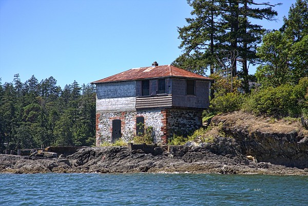 Cole Island - Esquimalt Harbour, Victoria, BC, Canada