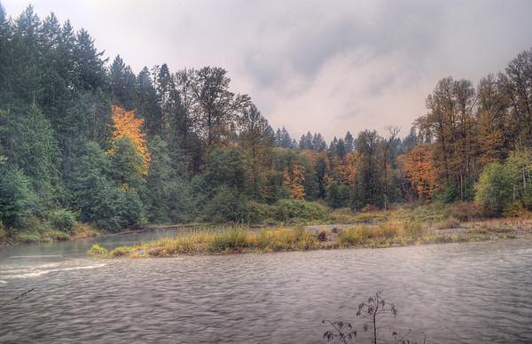 Cowichan River - Vancouver Island, BC, Canada