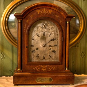 "Antique Clock - Cowichan Valley Museum, Duncan, Vancouver Island, BC, Canada Visit our blog ""Tempus Fugit: A Clock's Storied History"" for the story behind the photo."
