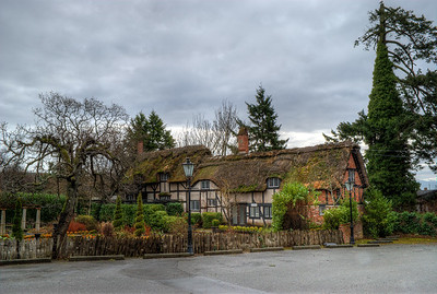 Anne Hathaways Cottage (Replica), English Inn & Resort, Victoria, BC, Canada